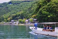 奥びわ湖の隠れ里へサイクリング湖上タクシーで行くスローな夏旅