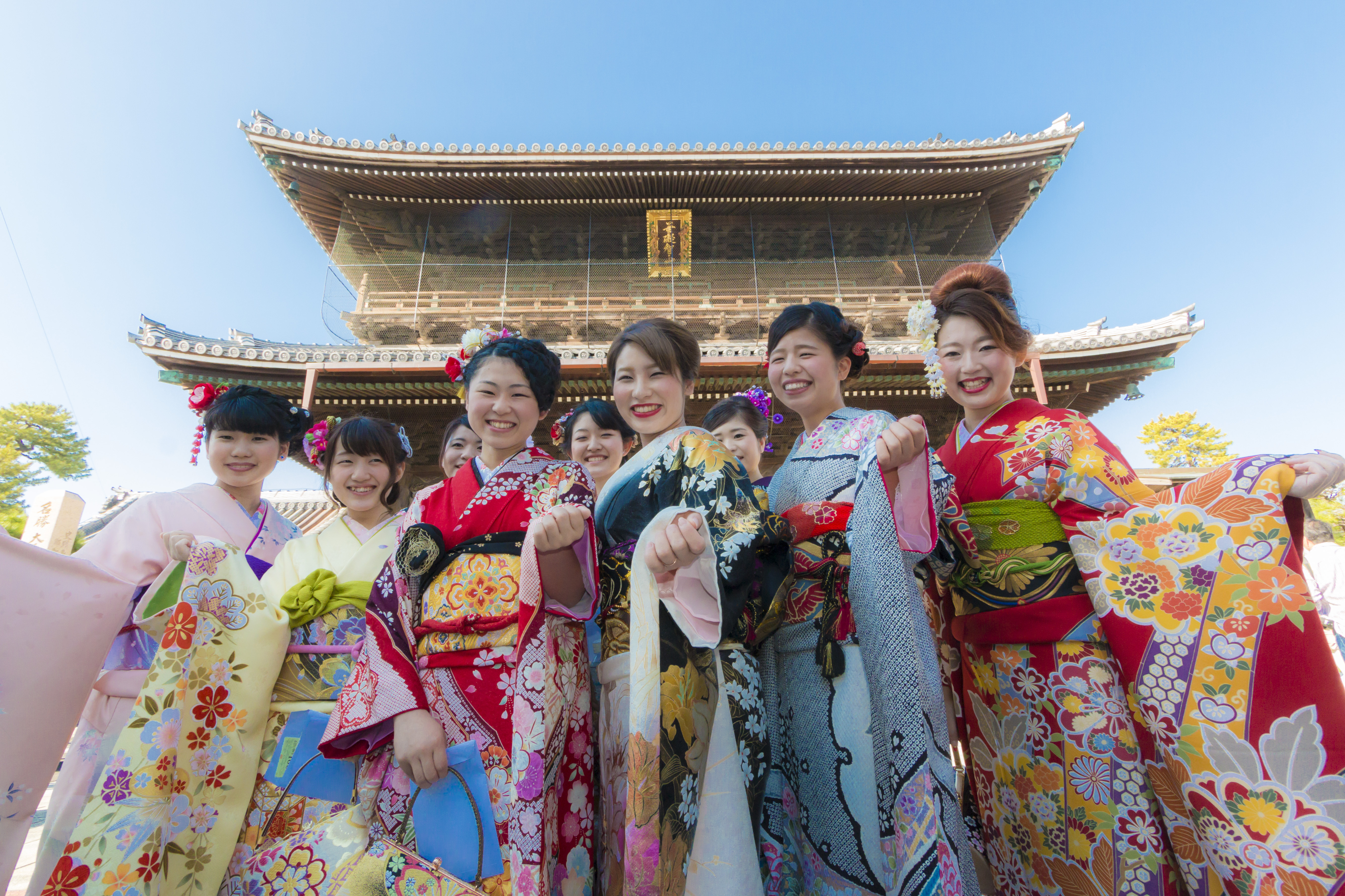 Nagahama Kimono Garden Party