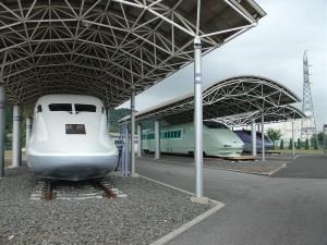 新幹線高速試験車両保存場