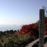 賤ヶ岳(琵琶湖を望む)