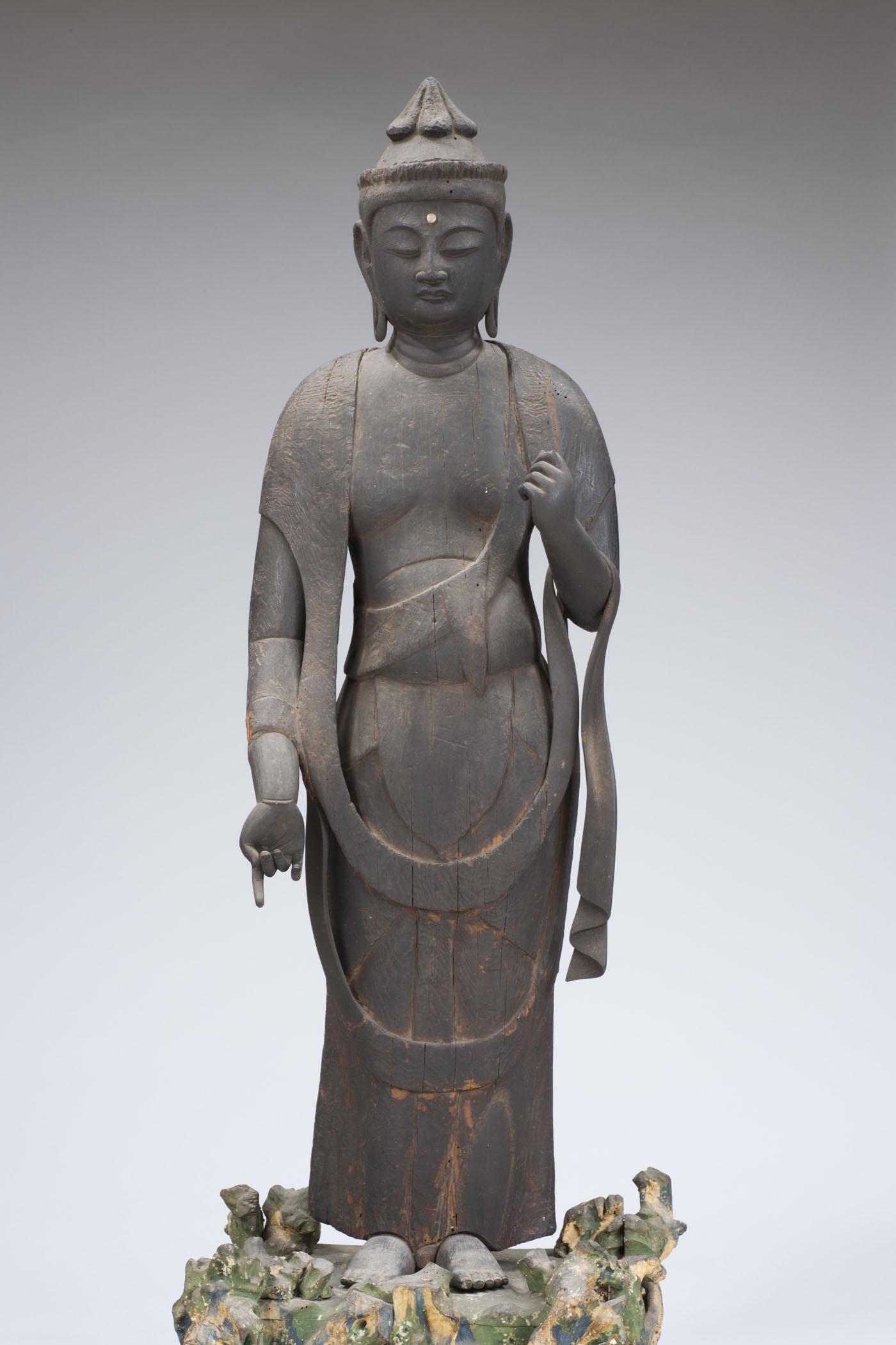 常楽寺聖観音(正面)
