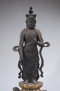 光勝庵(国安自治会) 十一面観音菩薩立像