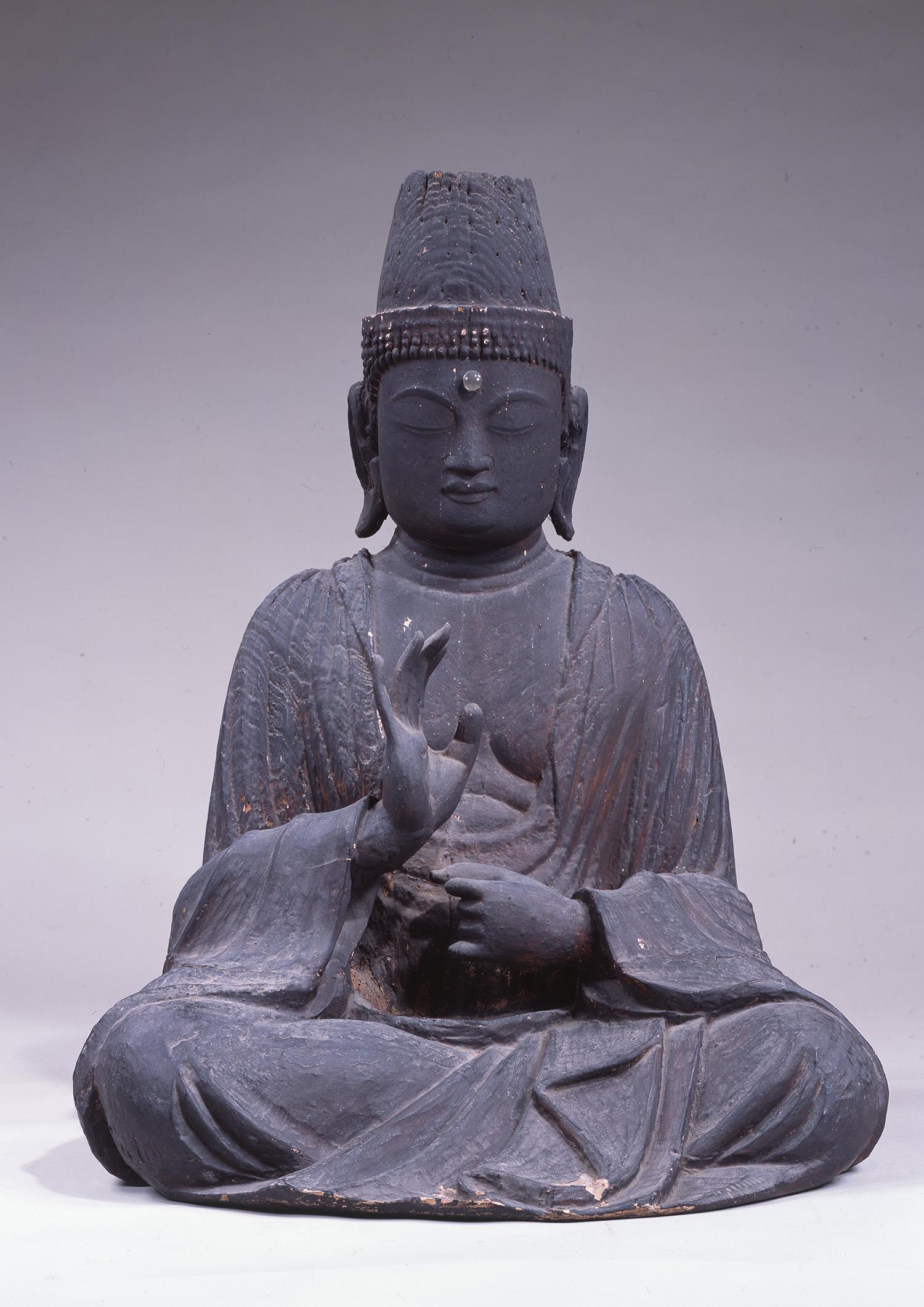 竹蓮寺(西阿閉自治会) 伝聖観音坐像