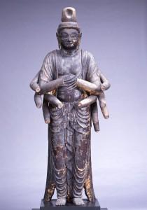 赤後寺(日吉神社) 聖観音立像・千手観音立像