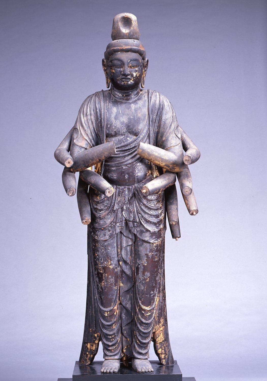 赤後寺(日吉神社)菩薩立像・千手観音立像