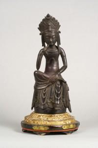 Odani-ji Temple  Statue of Nyoirin Kannon Hankashii