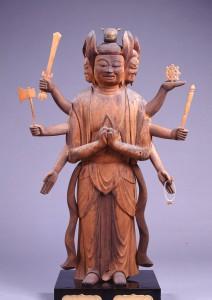 横山神社 馬頭観音立像