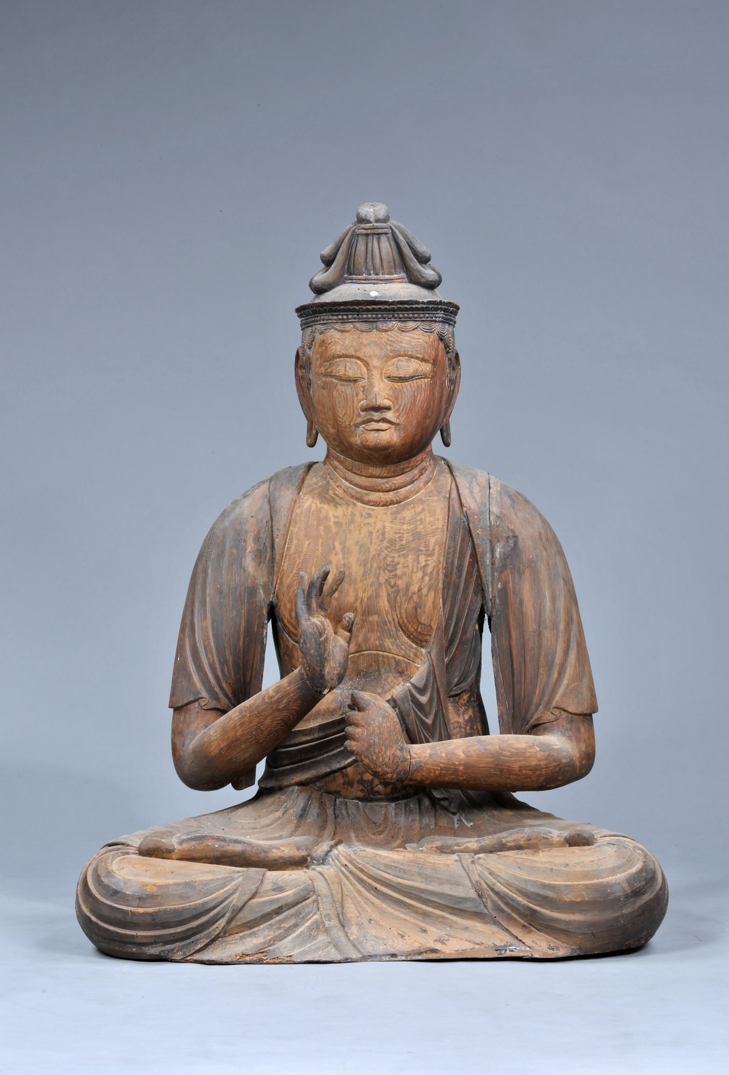 Amida-ji Temple  Statue of Seated Sho Kannon