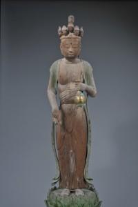 田中神社(田中自治会) 十一面観音立像・菩薩形立像