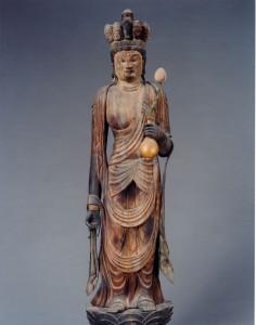 鶏足寺(己高閣収蔵) 十一面観音立像
