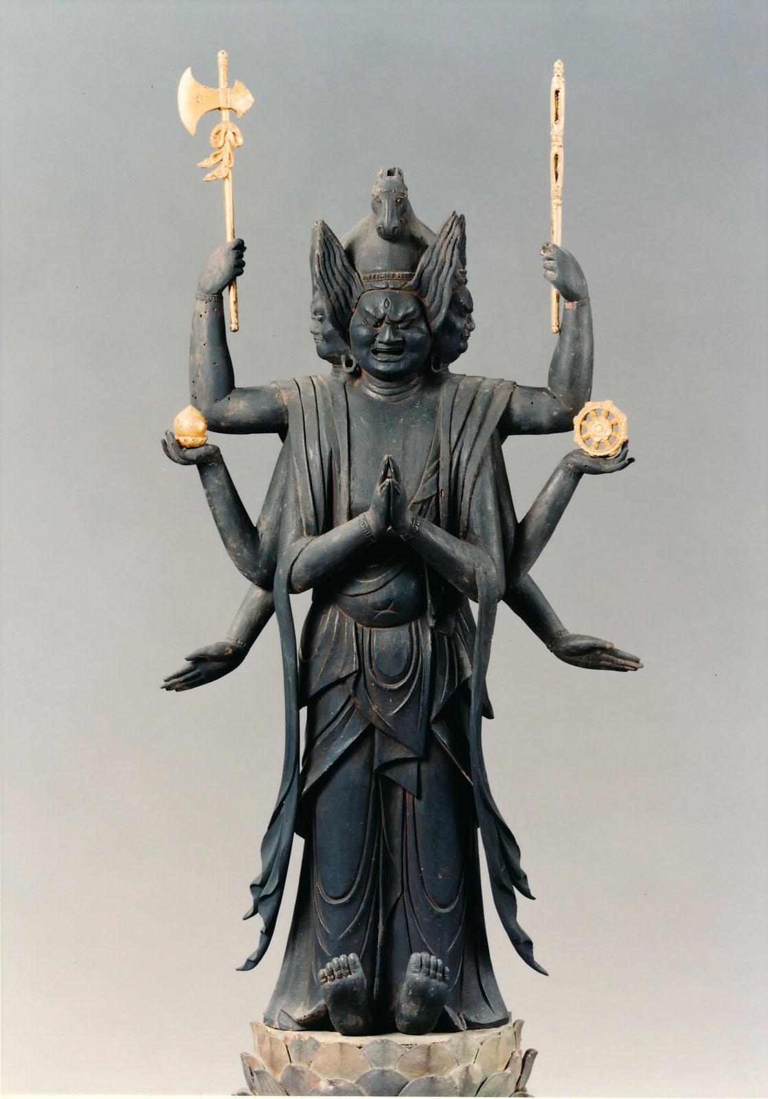 徳圓寺 馬頭観音立像
