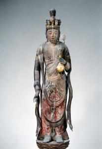 石道寺 十一面観音立像