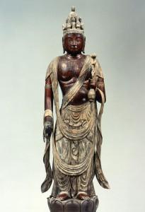 充満寺(西野薬師堂) 十一面観音立像・薬師如来立像