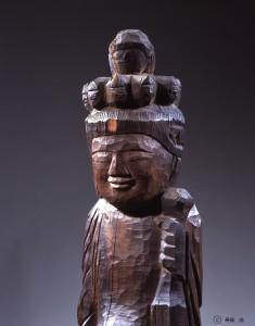 Ohira Kannondo   Statue of Standing Eleven-faced Kannon