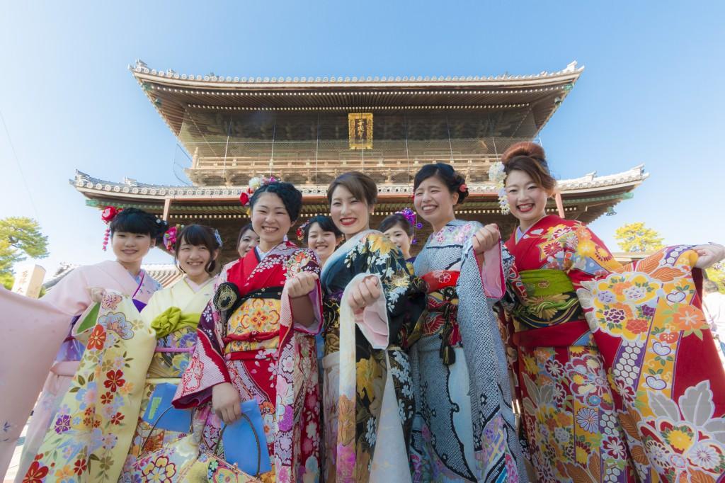 나가하마 기모노 축제