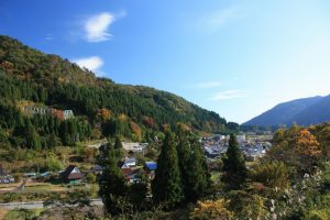 Higashikusano Mountain Village Scenery (Japan Heritage)