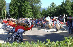 Asahi Honen Taiko Odori Dance (Japan Heritage)
