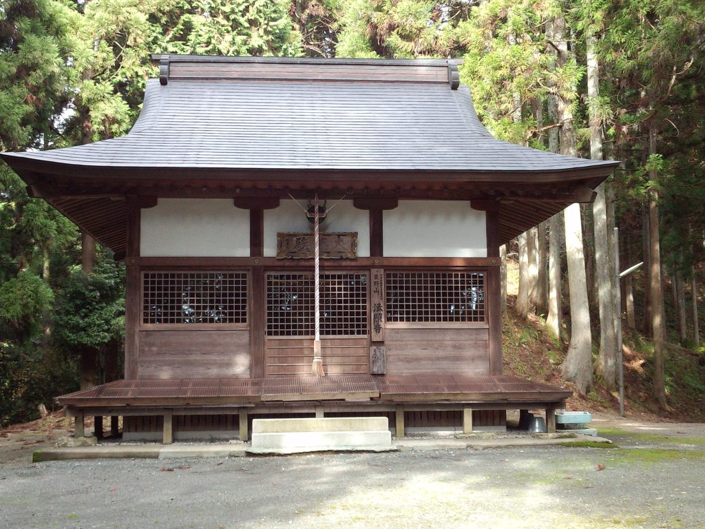 Hosho-ji Temple   Statue of Standing Sho Kannon