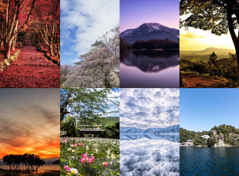 코호쿠핫케이(湖北八景)
