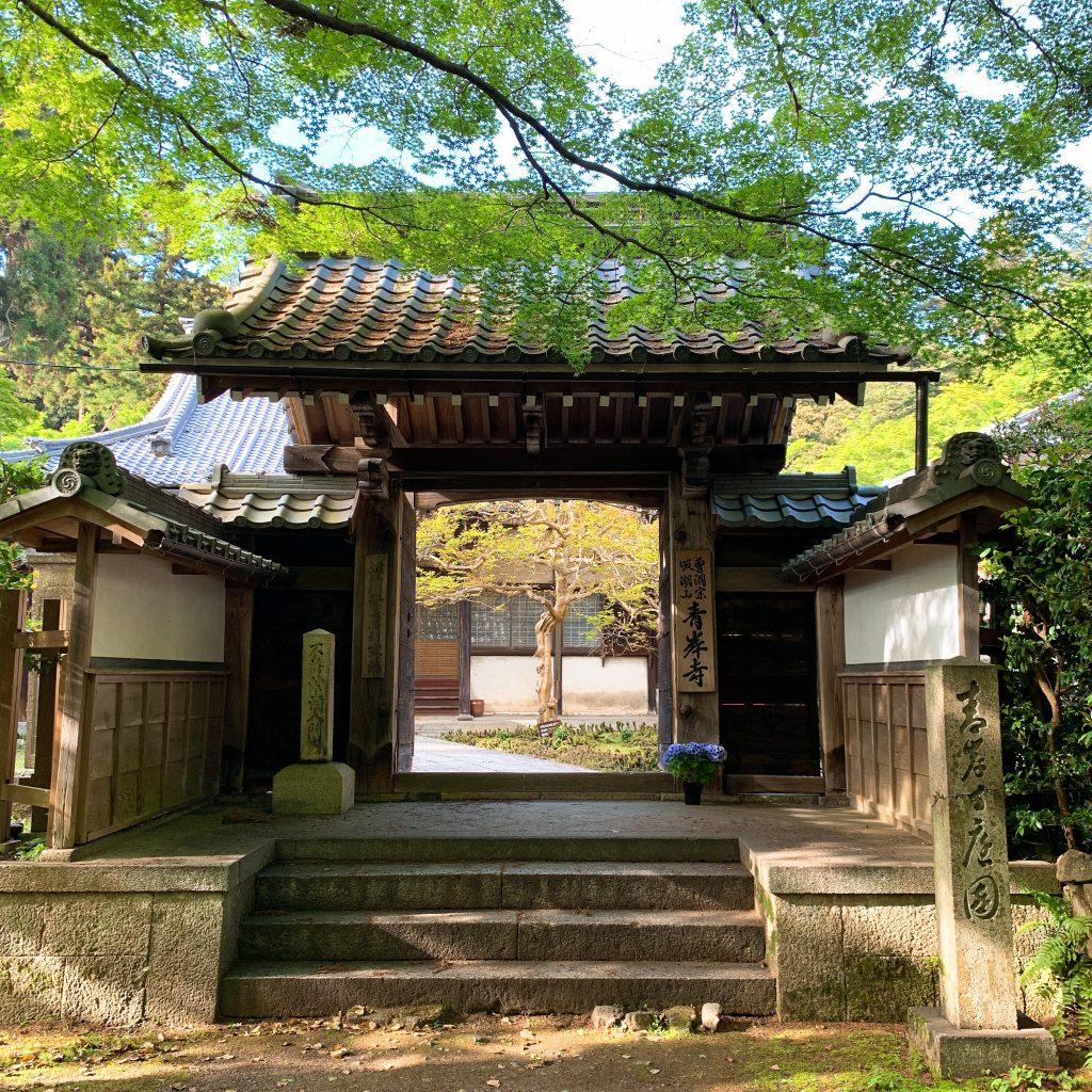 青岸寺 木造聖観音菩薩坐像 【日本名庭百選】